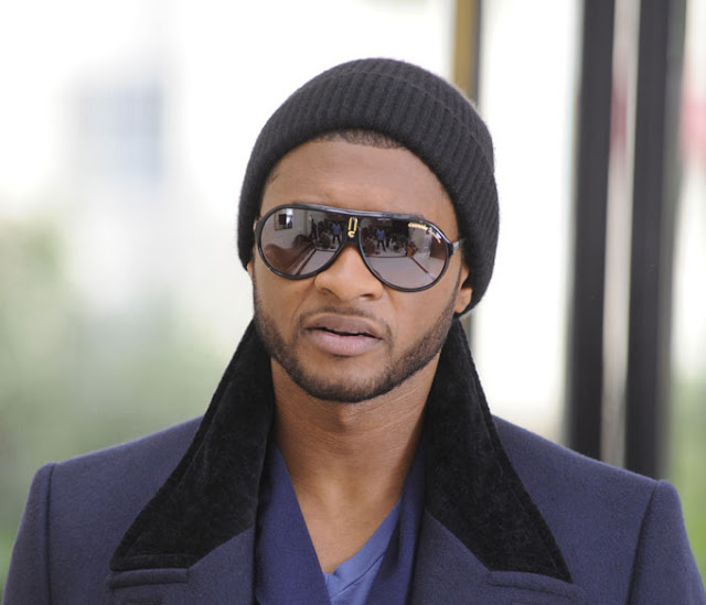 Carrera Endurance sunglasses as seen on Usher's video Daddy's Home directed by Chris Robinson and produced by Sony Music