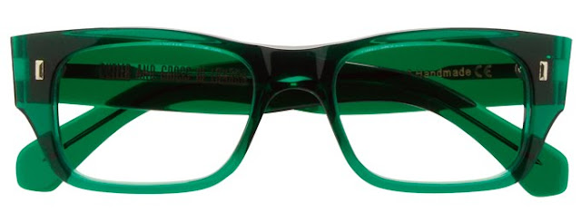 Bright Green Eyeglass Frames : Cutler and Gross 0692 glasses in a bright translucent ...