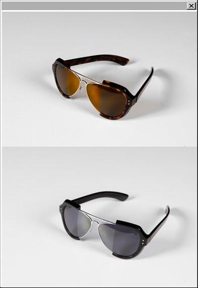 Maison Martin Margiela Incognito Assemblé aviator sunglasses