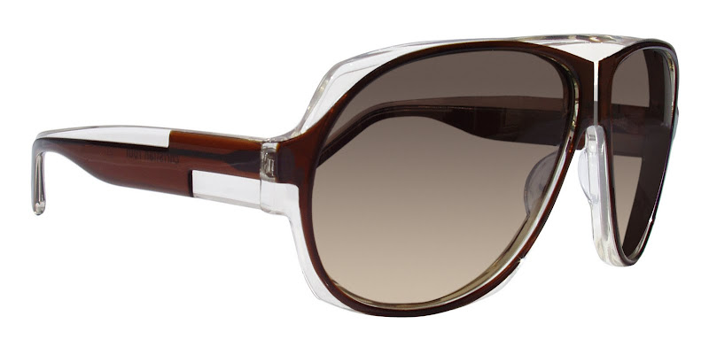 Christian Roth aviator sunglasses 14032 in brown