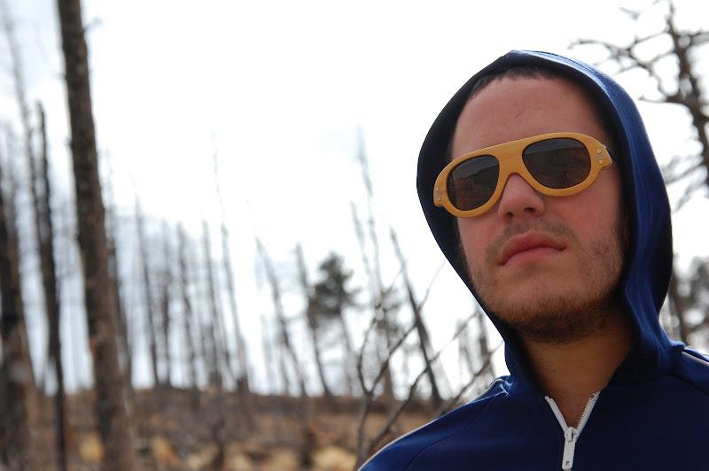 Shoulda wooden bespoke spectacles