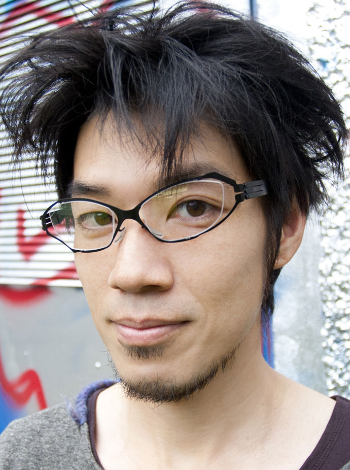 IC! Berlin goes assymetric with Jiro Ito glasses collaboration: Yutaro