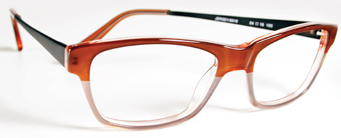 Ogi's Seraphin collection - new takes on old classics: Jersey glasses