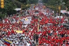 تظاهرات کارگران و زحمتکشان در کاراکاس