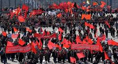 تظاهرات اول ماه مه در مسکو 2009