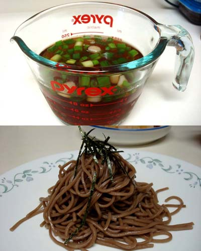 how to make soba dipping sauce