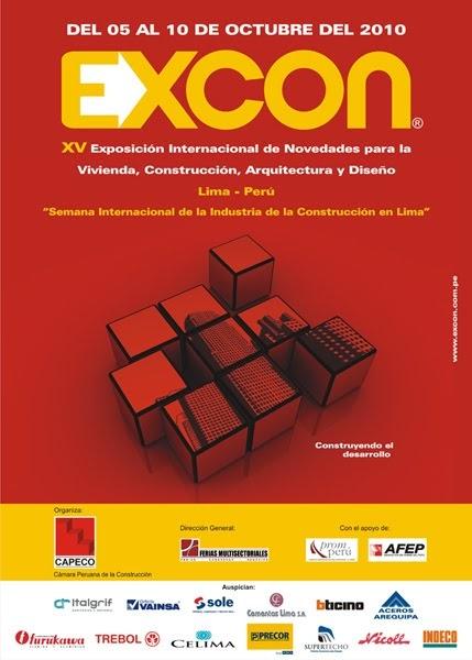 Bit cora arquitectura peruana xv excon 2010 exposici n for Arquitectura diseno y construccion
