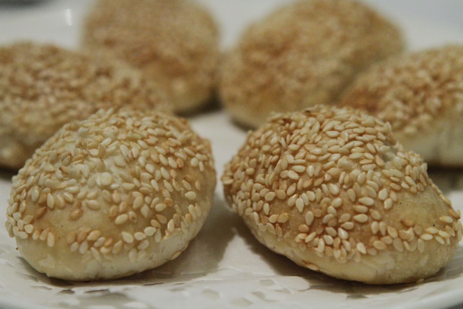 Chinese Sesame Seed Cake