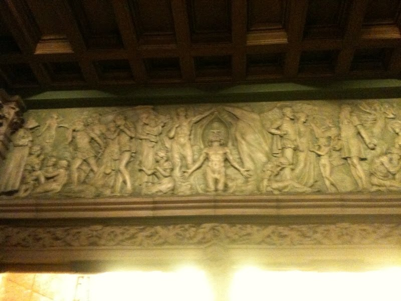 Creations of the Mashing Machine - New Amsterdam Lobby Relief