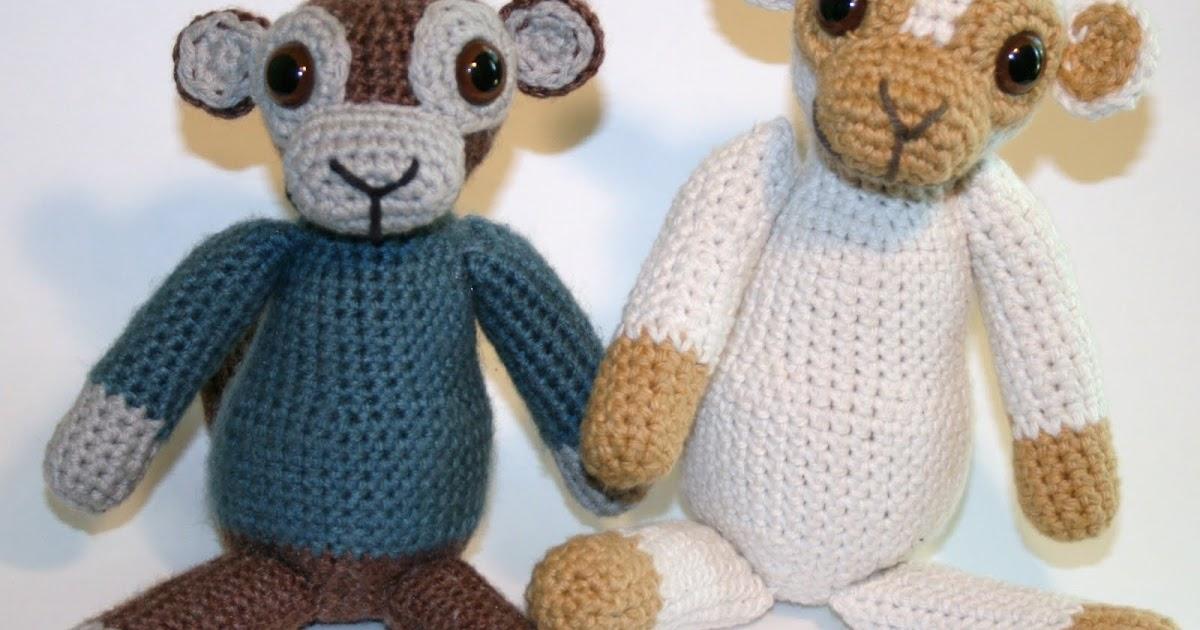 Decrease Amigurumi Crochet : Knottys Amigurumi: Old School Monkey Amigurumi