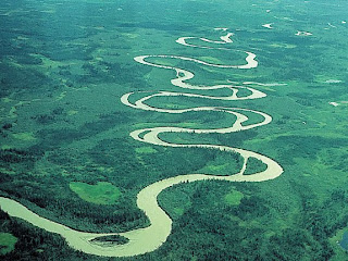 Rivers and their changing paths