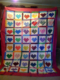 Easy Quilt Patterns For Graduation : Living4Quilting (and Tatting and Knitting Too! ): Stephanie s Graduation Quilt