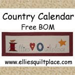 Free BOMs over at Ellies Quilt Place