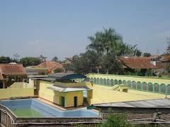 Kolam yang telah direnovasi