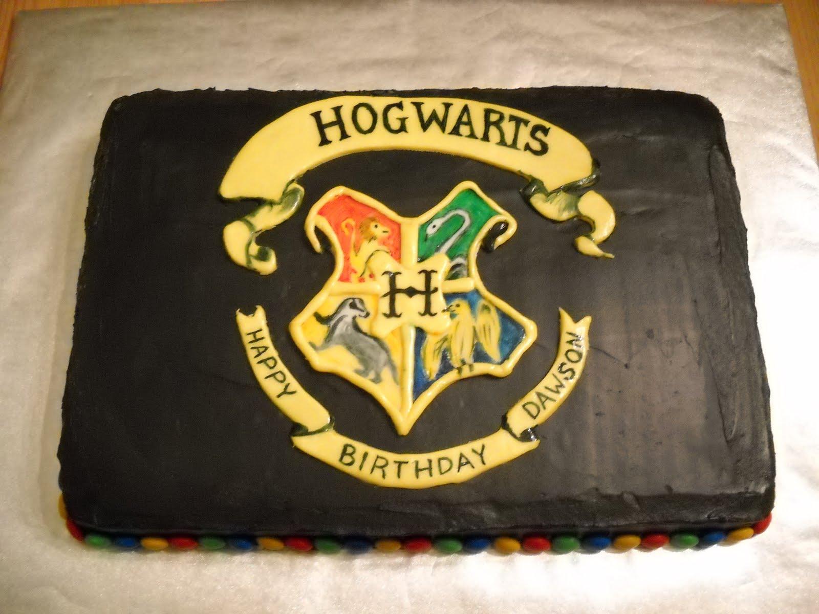 Harry Potter Logo cake by ~veedeb on deviantART