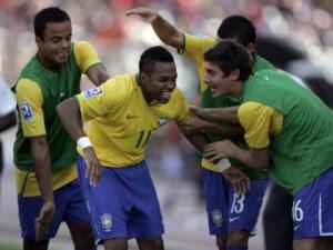 Seleção brasileira se prepara para a copa de 2010