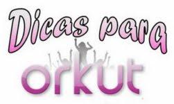 Como faço letras legais no orkut?