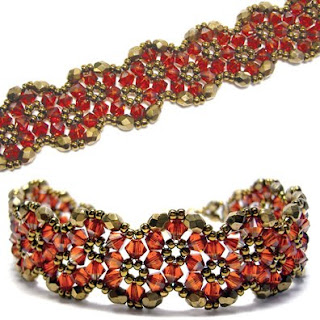 Crystal Flowers Bracelet - Sova-Enterprises.com