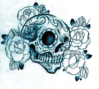 skull tattoos designs for men. Skull Tattoo Designs ~ Women Tattoos Ideas Free tattoo flash designs 15.