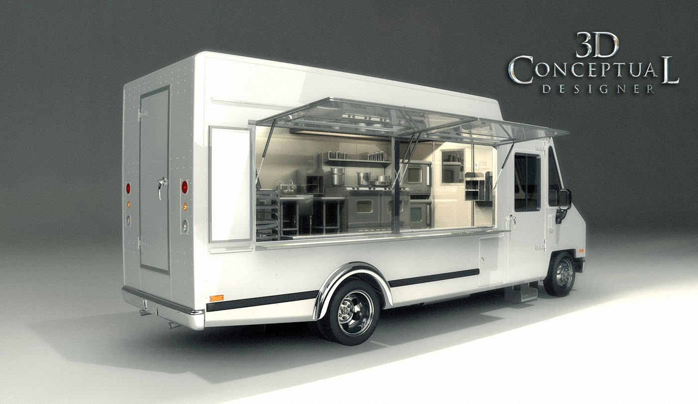 3DconceptualdesignerBlog Project Review The Great Food Truck Race