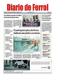 El Diario de Ferrol (01-06-10). Limpieza, Charla seguridad y 1ª Ola