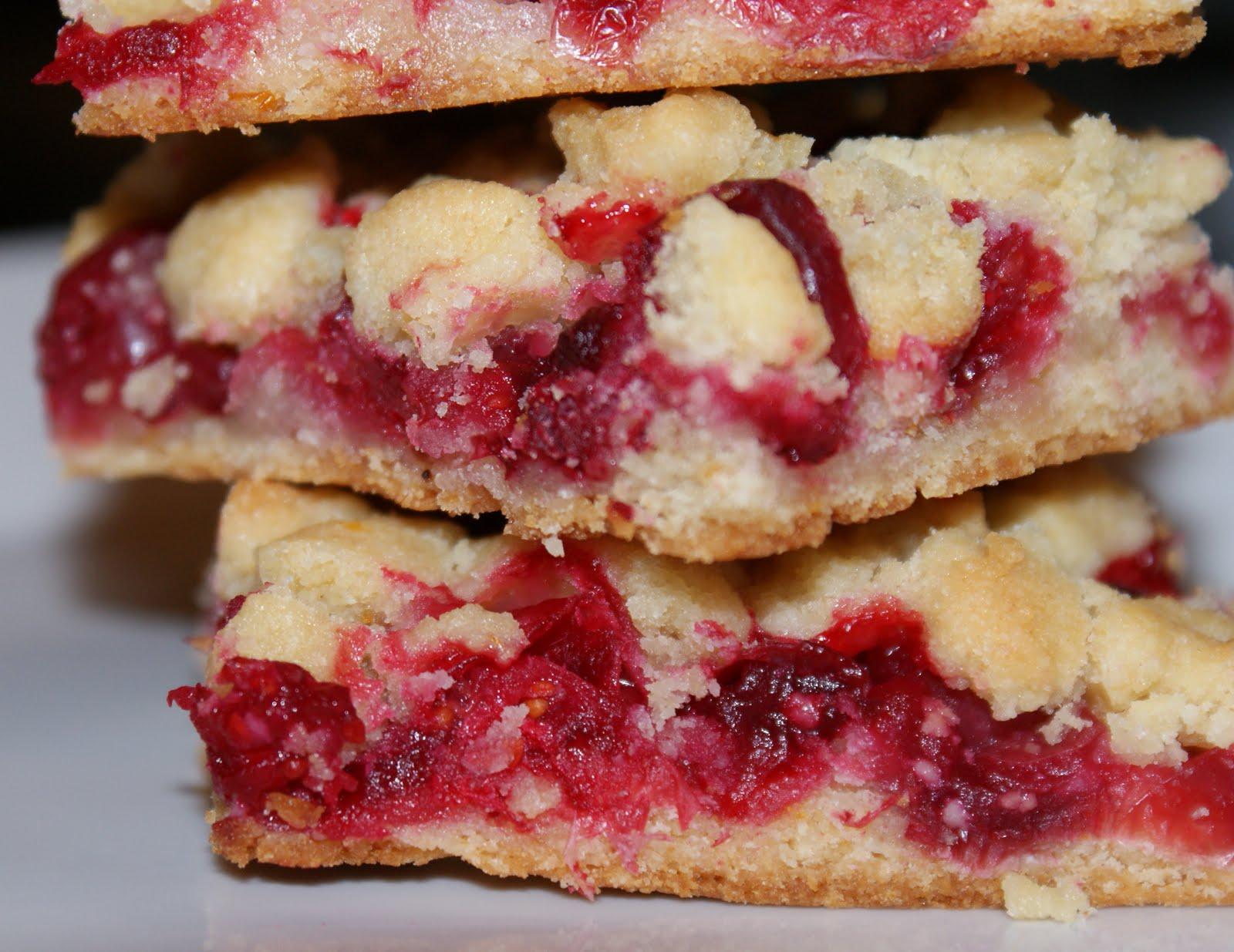 Authentic Suburban Gourmet: Cranberry - Orange Crumb Bars