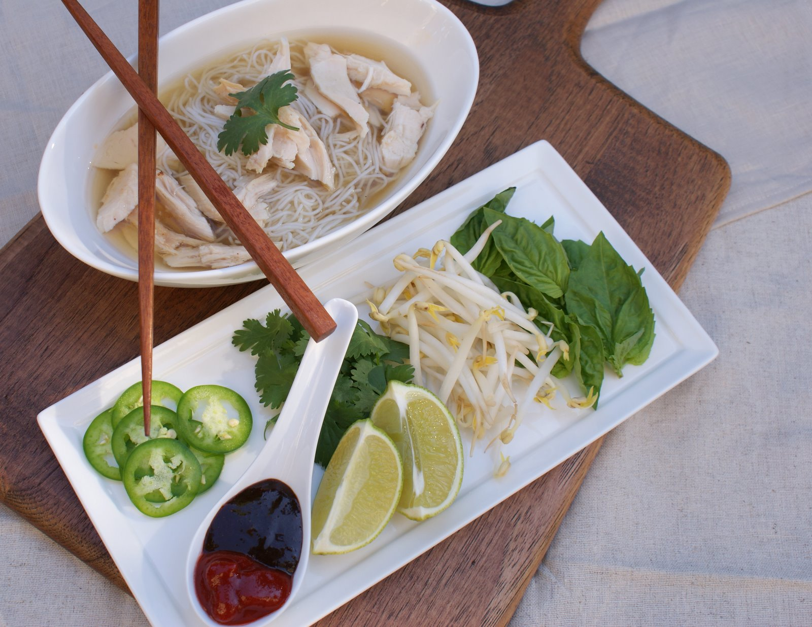 ... : PFB #2 | The Classics: Pho Ga - Vietnamese Chicken Noodle Soup