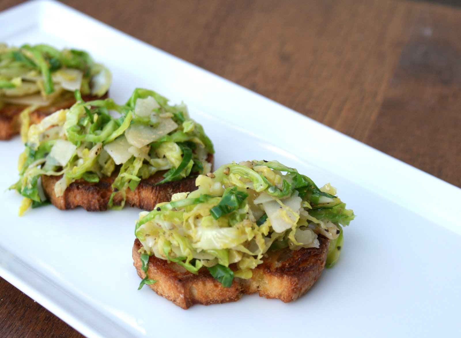 Gourmet brussel sprouts
