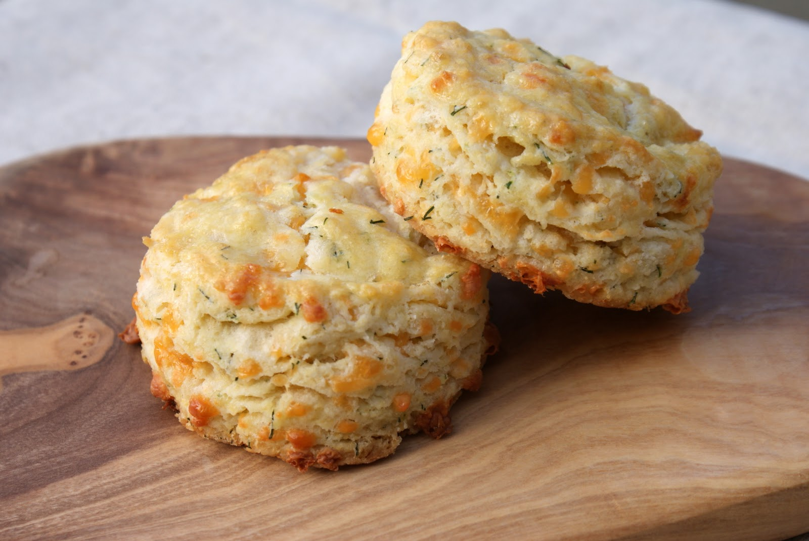 Authentic Suburban Gourmet: Cheddar-Dill Scones
