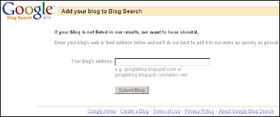 Lakukanlah Ping Setiap Selesai Posting Agar Blog Cepat Terindex