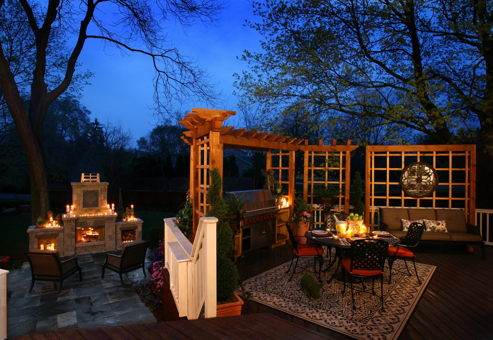 Dominick tringali architects outdoor living spaces for Outdoor living areas images
