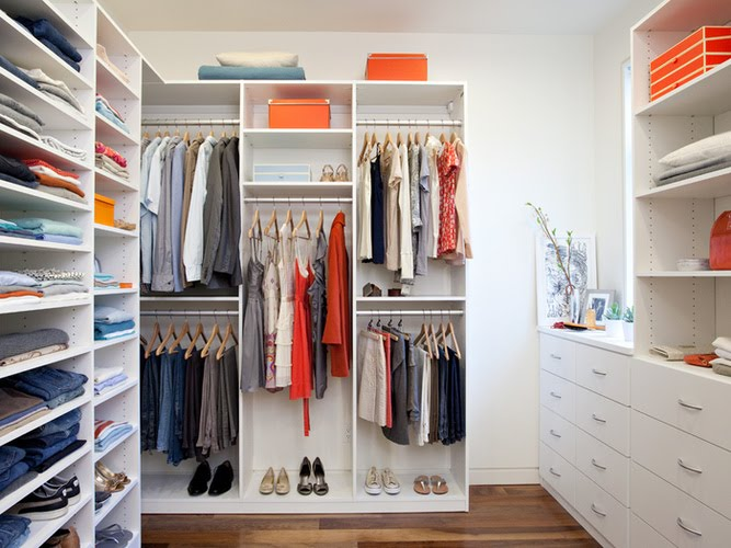 california closets suite system in white