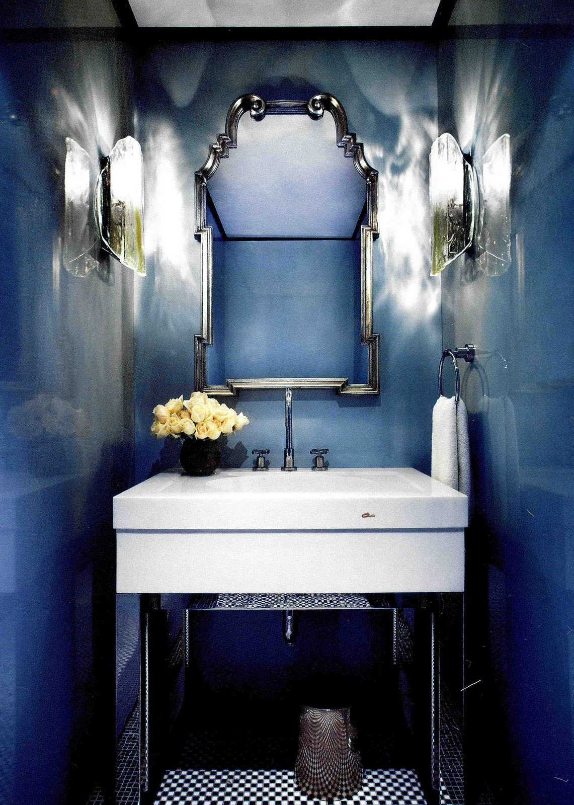 Lou lou pear inspiration gallery the powder room Powder room inspiration