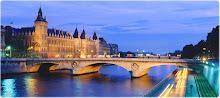 La Conciergerie e o Rio Sena - Paris