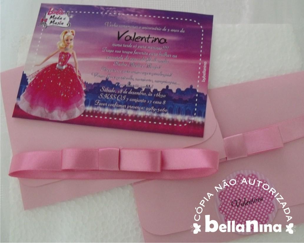 Barbie Moda E Magia     Valentina
