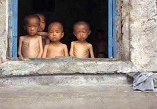 Grande FOME na Coreia do Norte causa a morte de 10.000 pessoas por CANIBALISMO