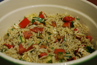 Cooking This and That: Orzo with Grilled Summer Vegetables ...