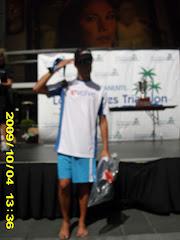 Podium LA triathlon 2009