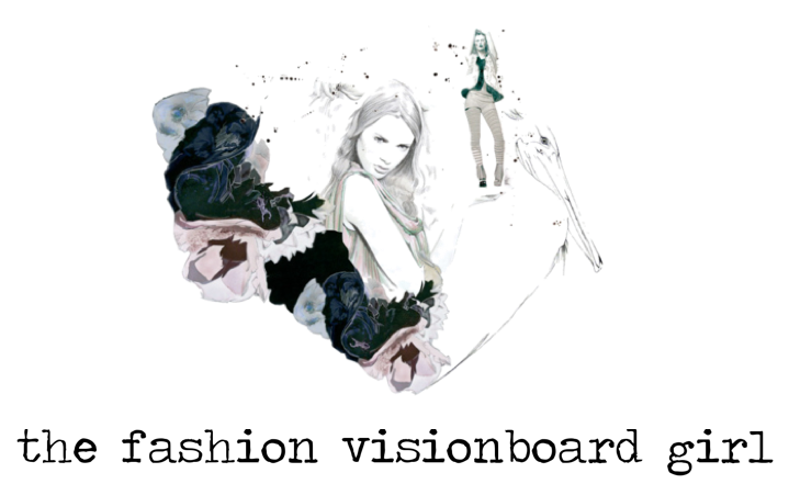 THE FASHION VISIONBOARD GIRL