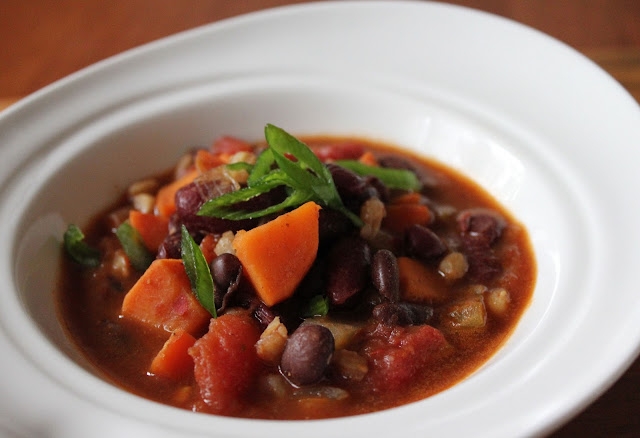 Fiery Red Bean Chili