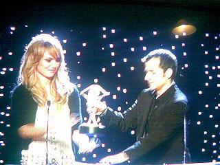 Premio a los mejores presentadores