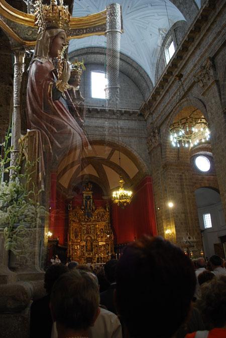 2018 Virgen lechón en Valladolid