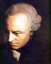 Kant was a pre-eminent Enlightenment thinker
