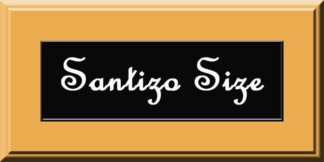 Santizo Size
