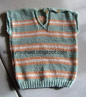 жилет из мериносовой шерсти для ребёнка