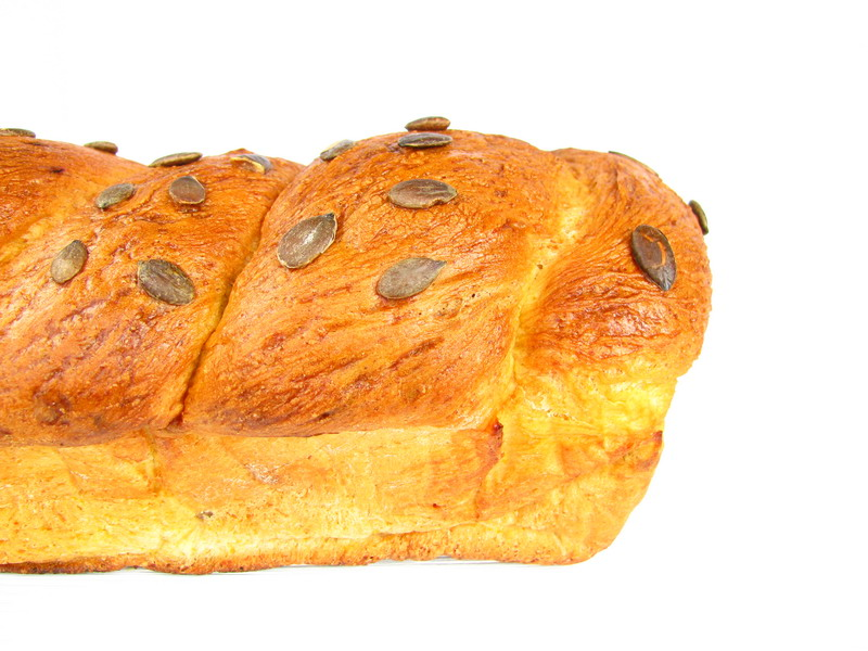 mushitza: Polenta Bread Fresh from the Oven
