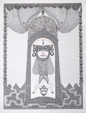 indian contemporary art pushpa kumari