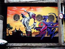 Arte na rua Graffiti'S