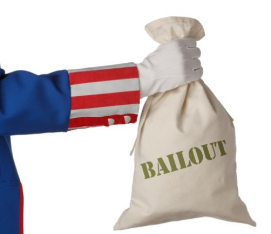 Government bailout fail