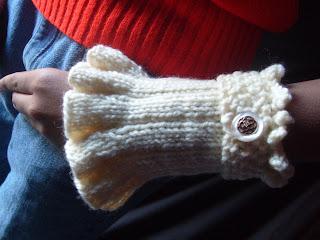 YarnCoture Victorian cuffs